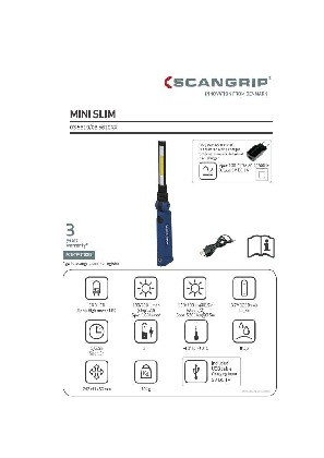 Manual Scangrip 03.5610