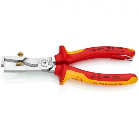 Nůžky na kabely s funkcí lisování TT