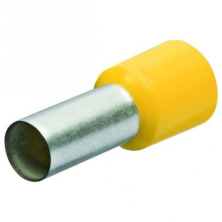 Dutinky s izolací, 25.0 žlutá,16mm/50ks
