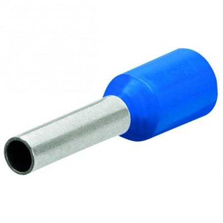 Dutinky s izolací, 2.5 modrá,10mm/200ks