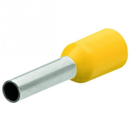 Dutinky s izolací,25.0 žlutá,18mm/50ks
