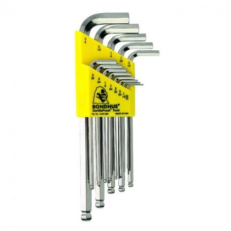 Sada L.-klíčů/inch BLX 13 chrom