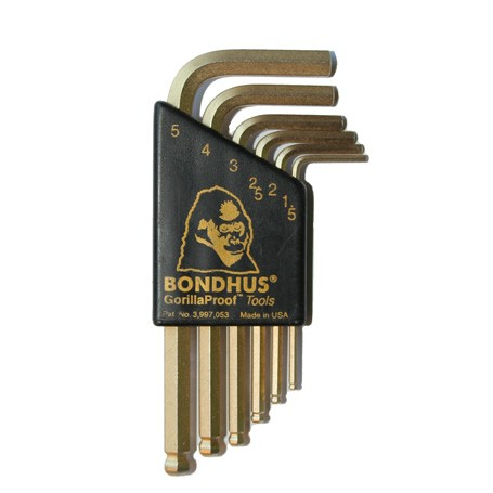 Sada L.-klíčů BLX6MSG GoldGuard zkrácená