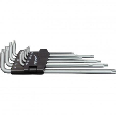 sada úhlových klíčů-extra long - 9pcs